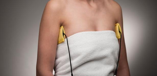 Iontophorese mit Silikon-Elektroden