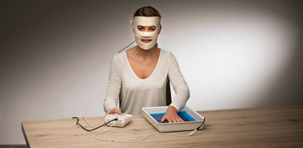 Saalio Iontophoresis – Face Mask (face electrode) against sweating in the face